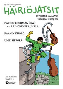HÄIRIÖJATSIT 2014